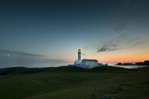 South lighthouse. Fair Isles