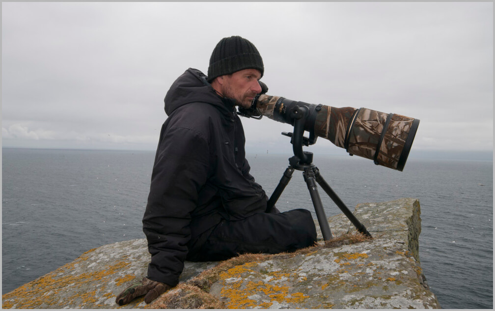 Richard Shucksmith, ecologist, photographer, marine biologist, award winning photographer